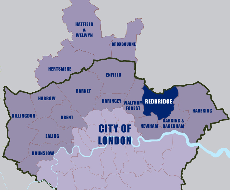 Let-to-Redbridge-Council-area-map
