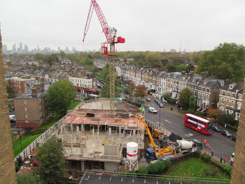 Is housing policy damaging the london market central for Images of building sites