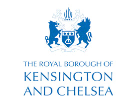 temporary accommodation providers kensington chelsea council logo