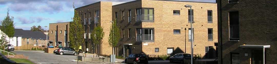 Block of flats for local housing