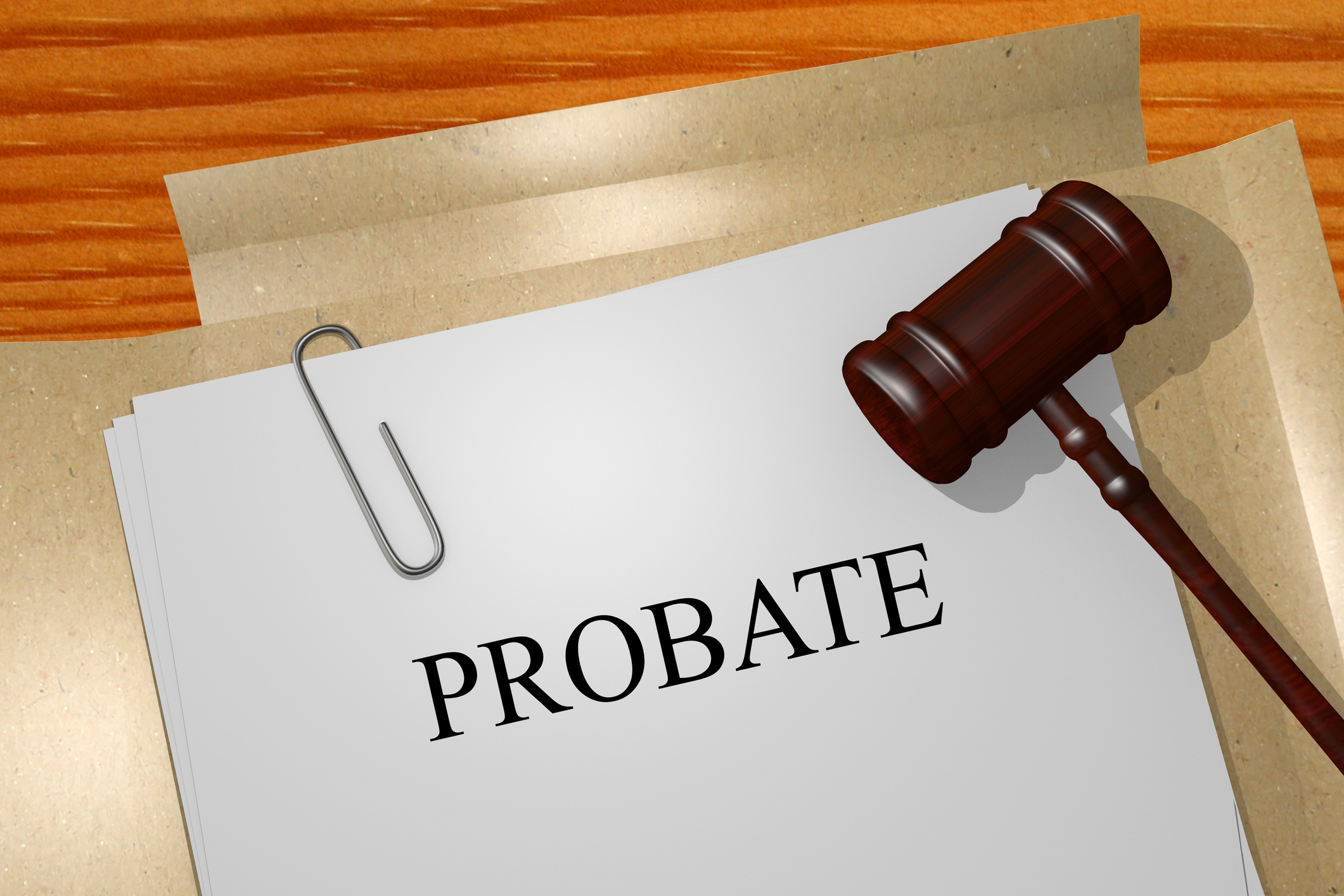 Documents for Probate Fees