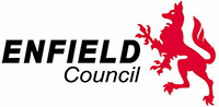 Enfield council logo housing management services