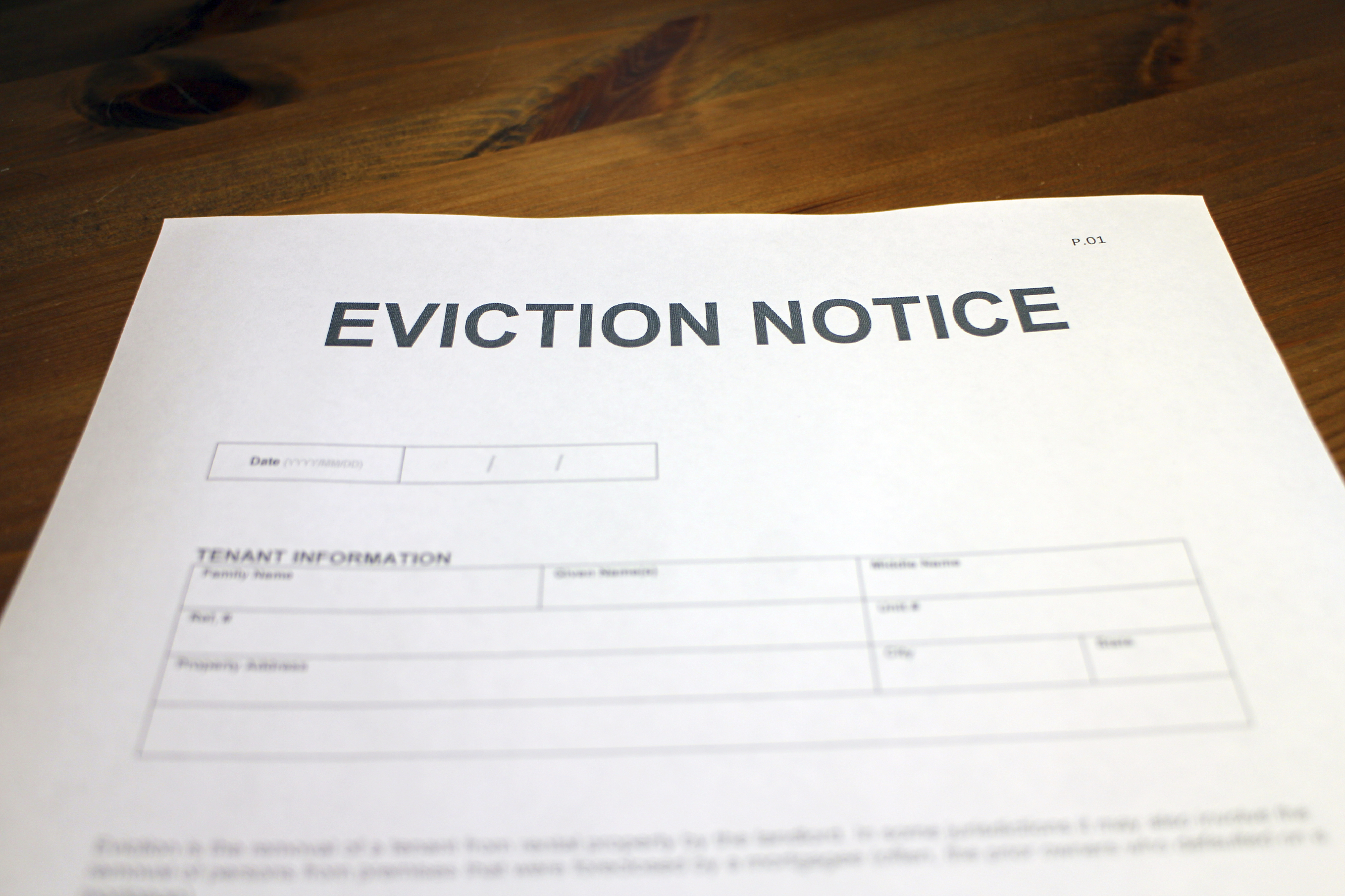 Court-appointed bailiffs take 118 days to remove tenants