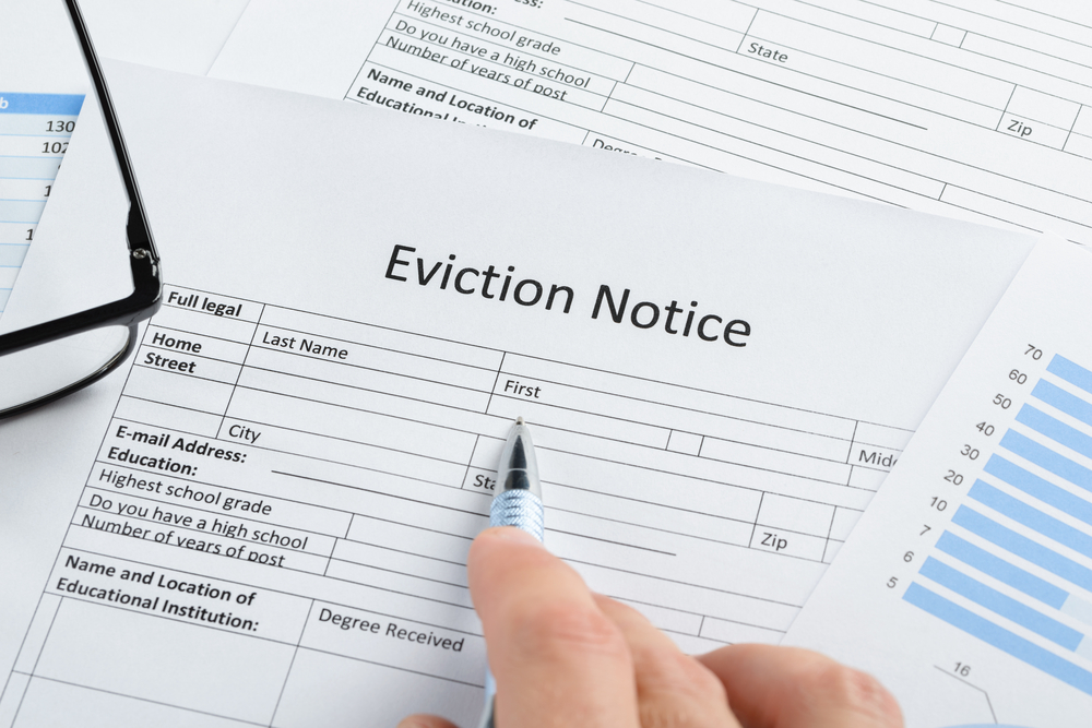 Section 21 eviction notice Central Housing Group