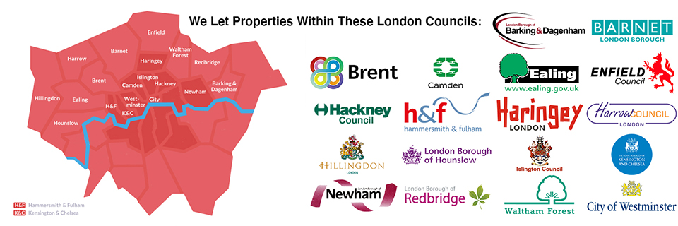 London Boroughs Slider Central Housing Group